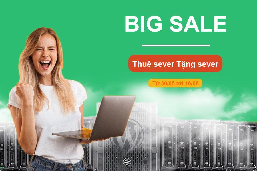 Ftech Khuyến mãi thuê server tặng server tháng 6/2019
